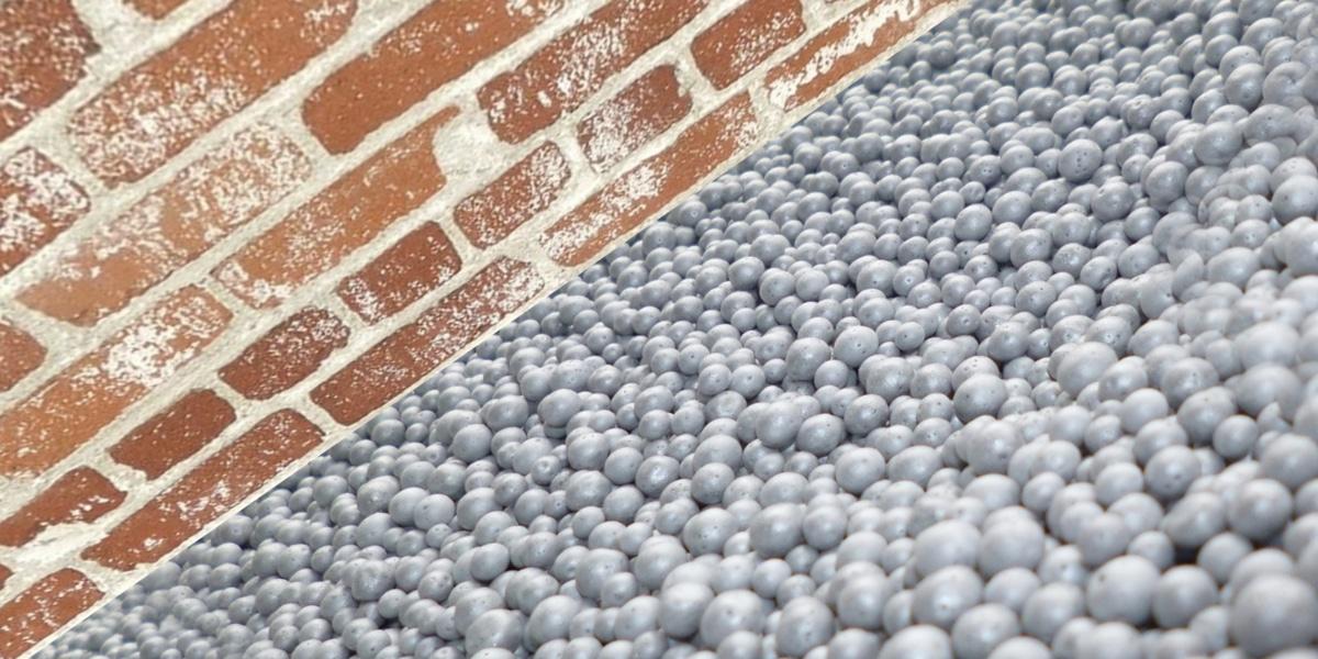billes polystyrene isolation