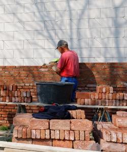 mur maconne